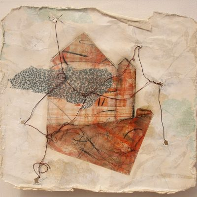 all-bound-up-and-papered-over.-wax-pigment-monotype-recycled-wallpaper-wire.-niamh-2